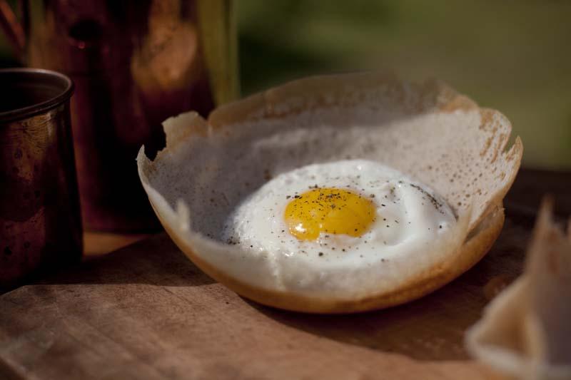 Egg Hoppers for Beakfast