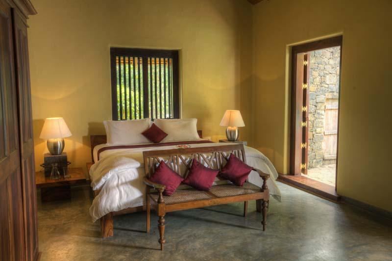 Private luxury villa hoeymoon suite