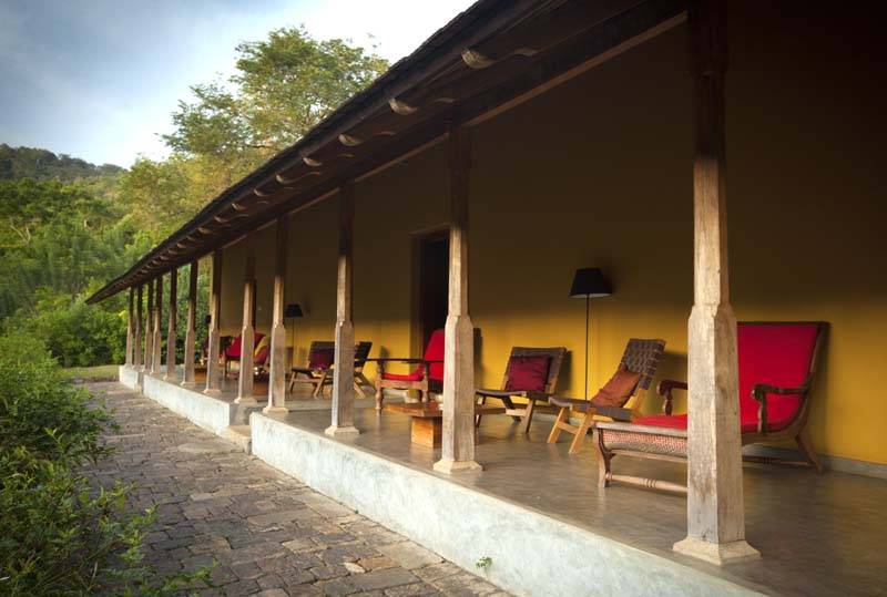 Traditional Sri Lanka architecture design hotel