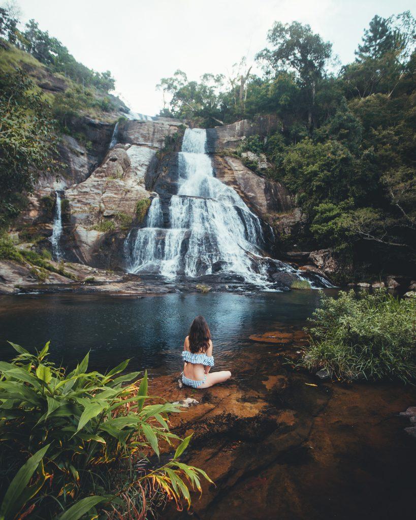 Diyaluma Falls Near Living Heritage Koslanda